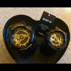Accessories - Baby G-Shock couple Set.  Last Set. Price is firm